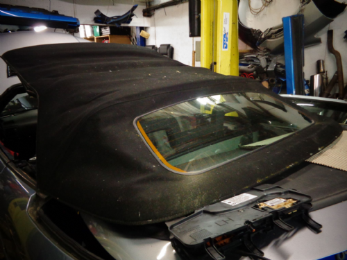 ASTRA CABRIOLET COMPLETE ROOF IN BLACK